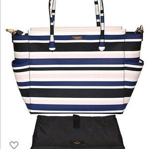 Kate Spade Cruise Stripe Kaylie Baby Diaper Bag